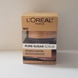 🐢2/$15 Loreal Nourish and Soften Pure Sugar Scrub